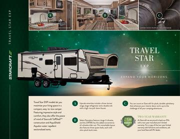2017 Starcraft Fall Travel Star Exp Travel Trailer Brochure