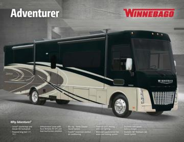 2017 Winnebago Adventurer Brochure