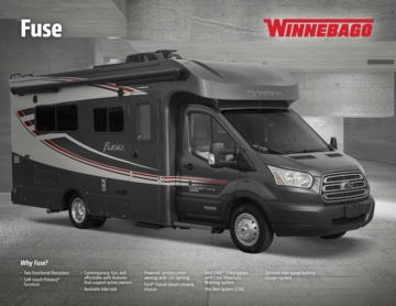 2017 Winnebago Fuse Brochure