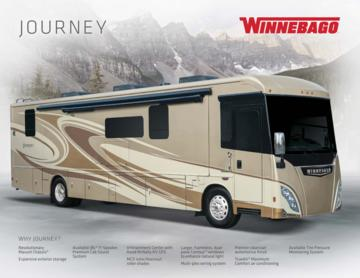 2017 Winnebago Journey Brochure