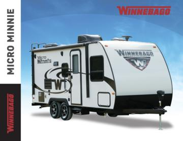 2017 Winnebago Micro Minnie Brochure