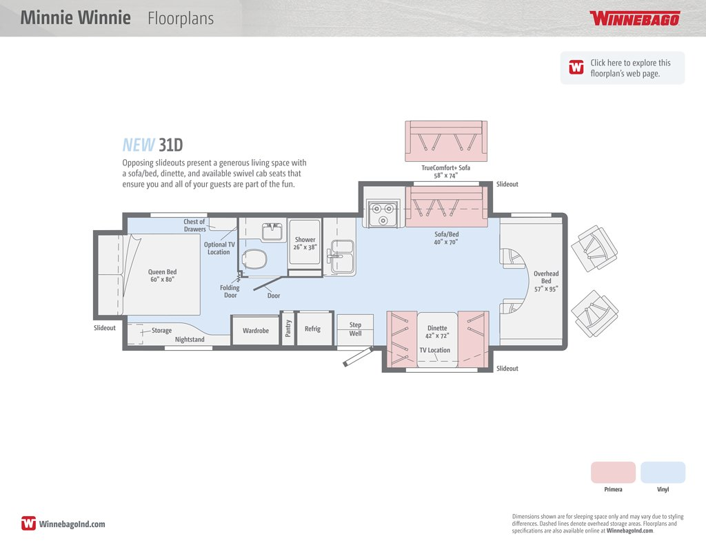 Winnebago Floor Plans Choice Image Home Fixtures