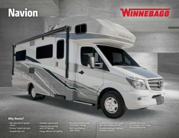 2017 Winnebago Navion Brochure
