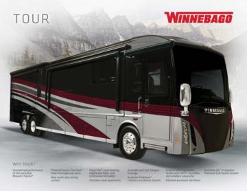 2017 Winnebago Tour Brochure