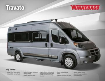 2017 Winnebago Travato Brochure