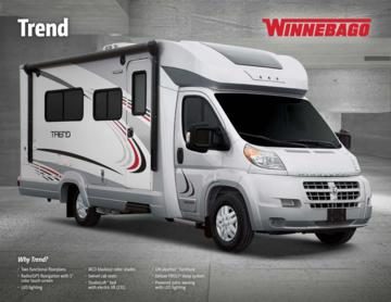 2017 Winnebago Trend Brochure