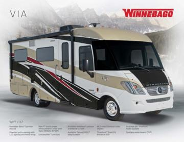 2017 Winnebago Via Brochure
