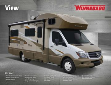 2017 Winnebago View Brochure