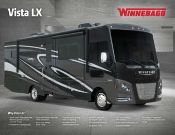 2017 Winnebago Vista LX Brochure