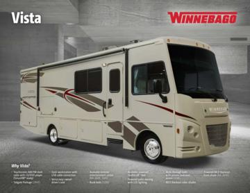 2017 Winnebago Vista Brochure