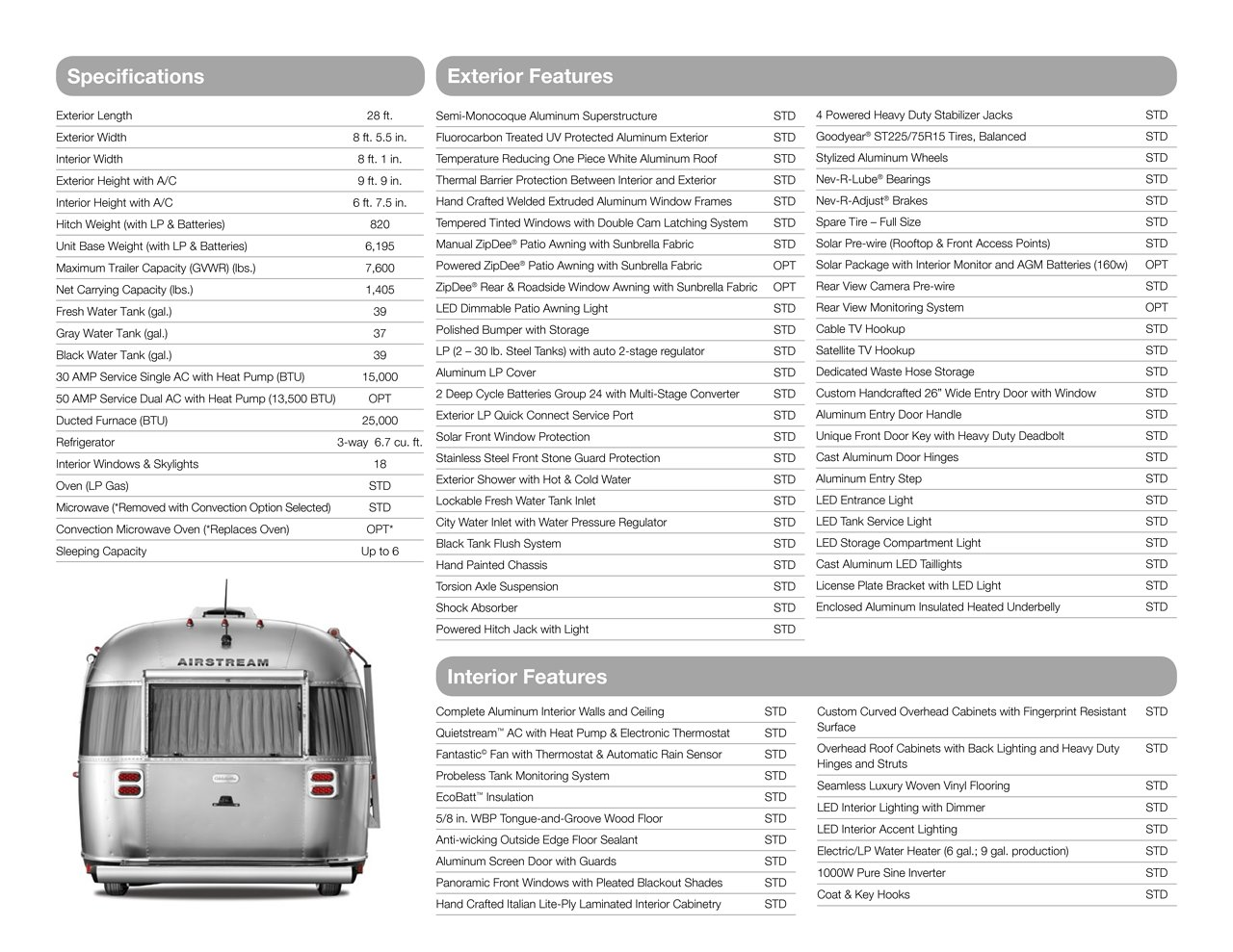 2018 Airstream Globetrotter Travel Trailers Brochure | Download RV