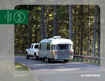 2018 Airstream International Serenity Travel Trailers Brochure