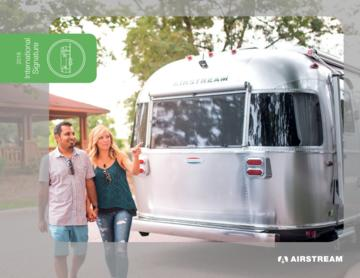 2018 Airstream International Signature Travel Trailers Brochure