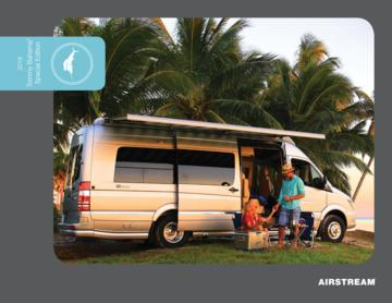 2018 Airstream Tommy Bahama Interstate Touring Coach Brochure