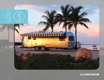 2018 Airstream Tommy Bahama Travel Trailer Brochure