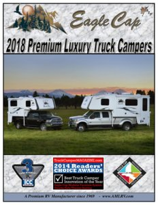 2018 ALP Eagle Cap Truck Campers Brochure page 1