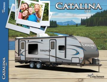 2018 Coachmen Catalina SBX Brochure