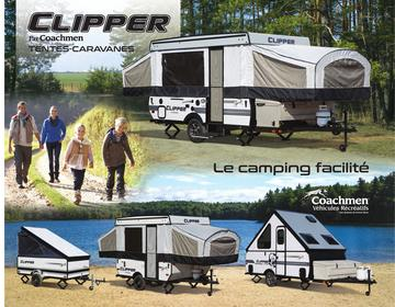 2018 Coachmen Clipper Camping Trailer French Brochure