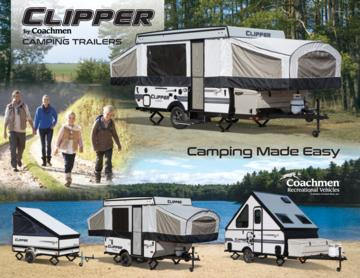 2018 Coachmen Clipper Camping Trailer Brochure