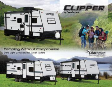 2018 Coachmen Clipper Travel Trailer Brochure