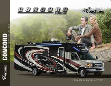 2018 Coachmen Concord French Brochure