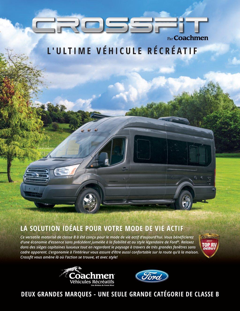 coachmen rv brochures floorplans and catalogs rv literature 2018 coachmen crossfit french brochure