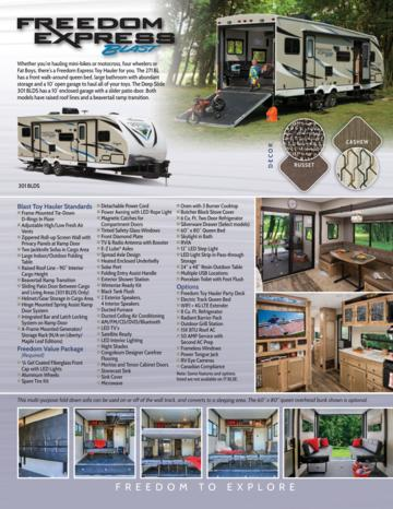 2018 Coachmen Freedom Express Blast Brochure