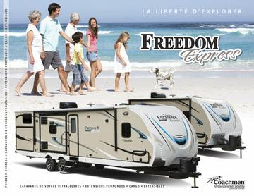 2018 Coachmen Freedom Express French Brochure