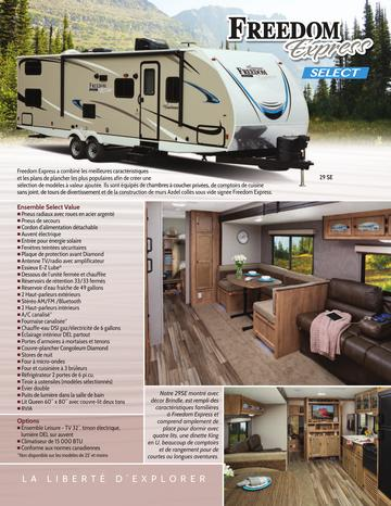 2018 Coachmen Freedom Express Select French Brochure