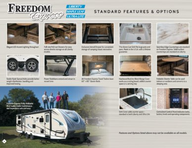 2018 Coachmen Freedom Express Brochure page 6