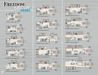 2018 Coachmen Freedom Express Brochure page 8