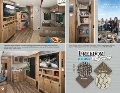 2018 Coachmen Freedom Express Brochure page 10