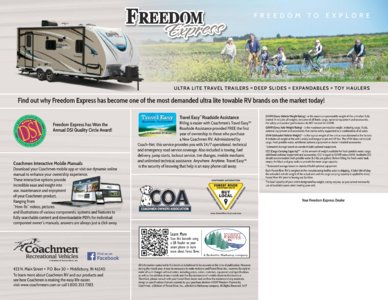 2018 Coachmen Freedom Express Brochure page 12