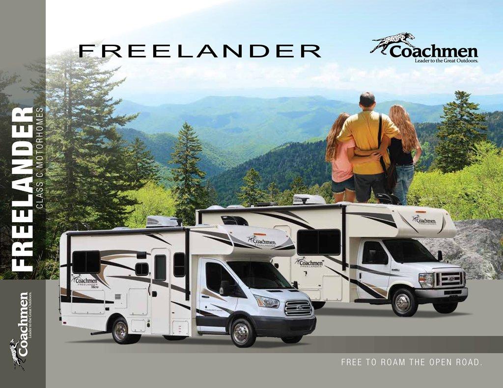 2018 Coachmen Freelander Brochure Download Rv Brochures