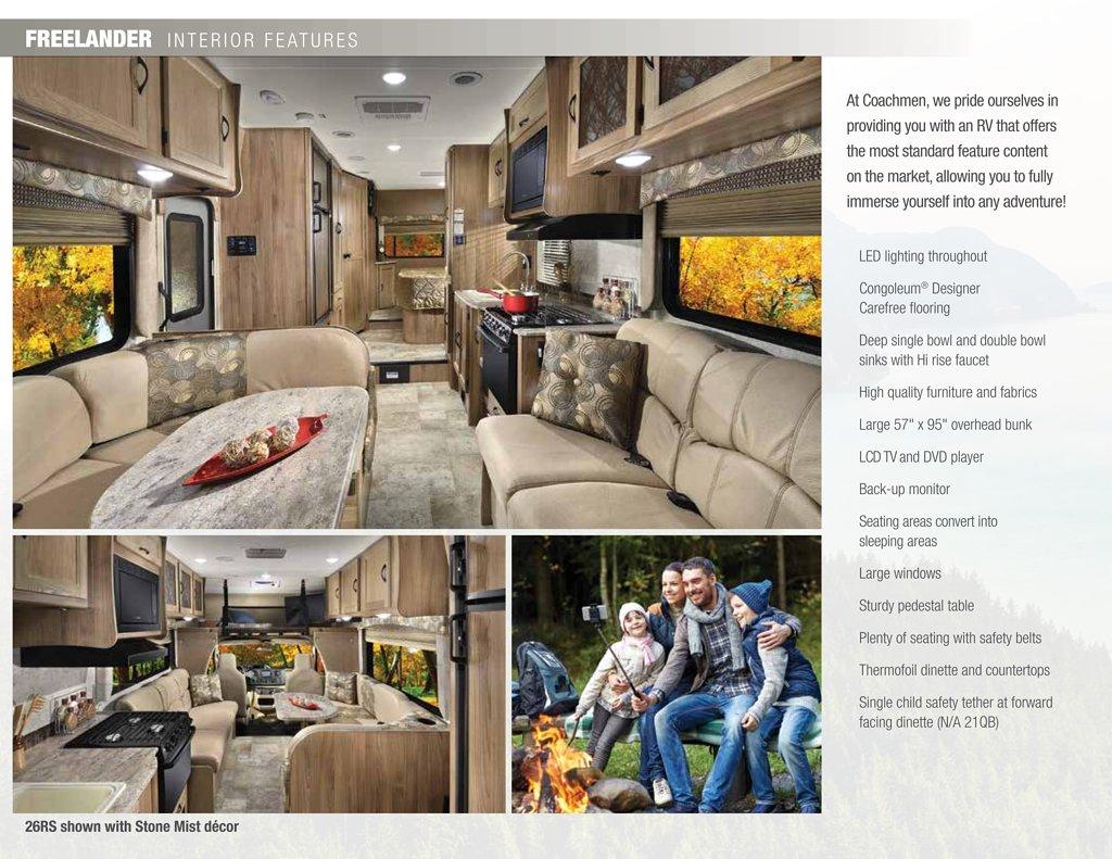 Coachmen rv interior decor options