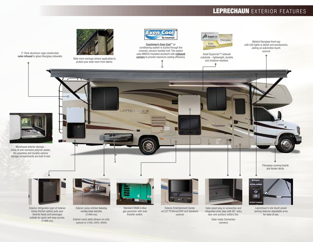 2018 Coachmen Leprechaun Brochure Rv Brochures Download