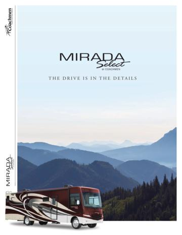 2018 Coachmen Mirada Select Brochure
