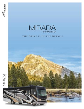 2018 Coachmen Mirada Brochure