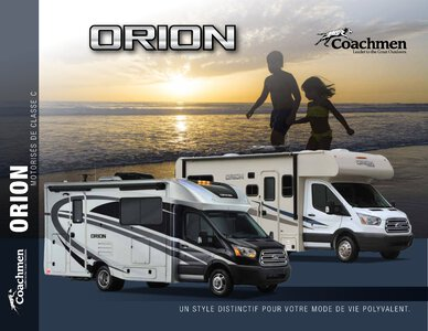 2018 Coachmen Orion French Brochure page 1
