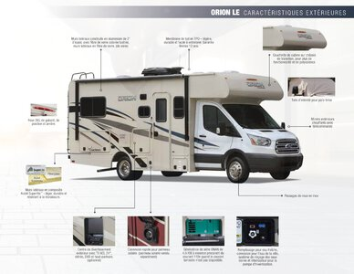 2018 Coachmen Orion French Brochure page 3