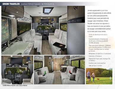 2018 Coachmen Orion French Brochure page 4