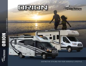 2018 Coachmen Orion Brochure