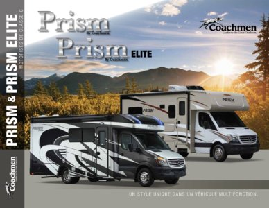 2018 Coachmen Prism French Brochure page 1