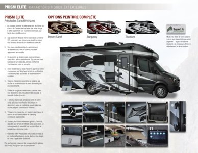 2018 Coachmen Prism French Brochure page 2