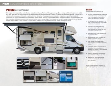 2018 Coachmen Prism French Brochure page 4
