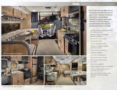 2018 Coachmen Prism French Brochure page 5