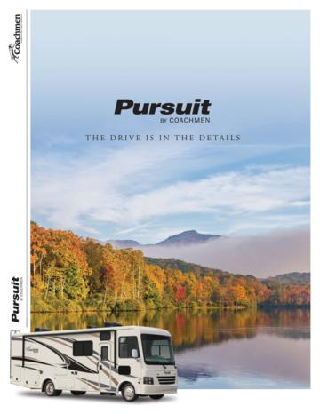 2018 Coachmen Pursuit Brochure