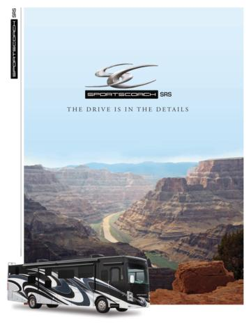 2018 Coachmen Sportscoach SRS Brochure