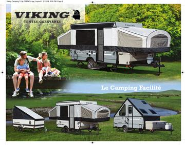 2018 Coachmen Viking Camping Trailer French Brochure