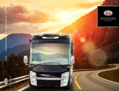 2018 Entegra Coach Full Line Brochure page 1